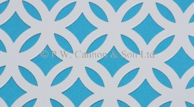 Fancy Ring Powder Coated Metal Sheets P W Cannon Amp Son Ltd